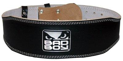 Bad Boy Leather Weight Lifting Belt
