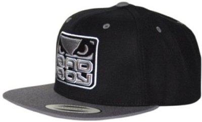 Bad Boy Snapback Cap Black Grey Fightshop Nederland