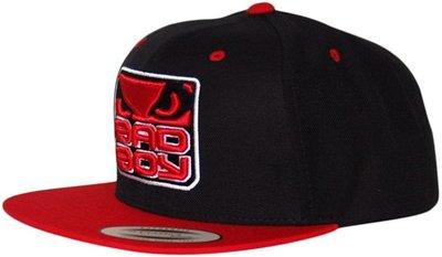 Bad Boy Snapback Cap Black Red Fightshop Nederland