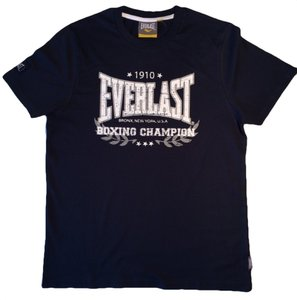 Everlast T Shirt Heritage navy blue Everlast Boxing Gear
