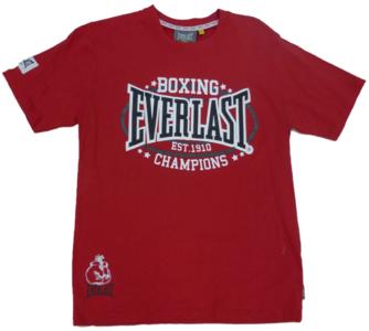 Everlast T Shirt Heritage Red Everlast Boxing Gear