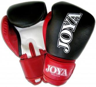 Joya Kickboks Handschoenen Black Red Leather Thai Boks