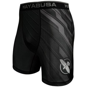 Hayabusa Metaru Charged Compression Shorts Black Grey