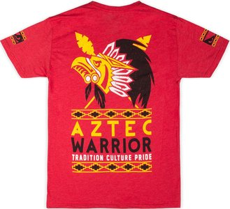 Bad Boy Aztec Warrior T Shirt Rood Vechtsport Kleding