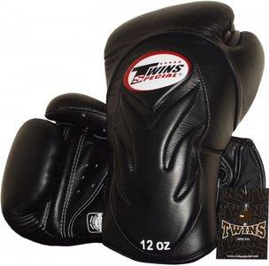 Twins Bokshandschoenen BGVL 6 Black Deluxe Sparring Gloves