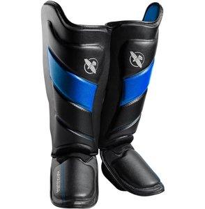 HAYABUSA T3 KICKBOKS SCHEENBESCHERMERS BLACK BLUE