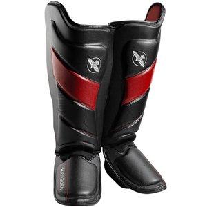 HAYABUSA T3 KICKBOKS SCHEENBESCHERMERS BLACK RED