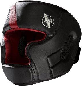 Hayabusa T3 Headgear Hoofdbeschermer Zwart Rood