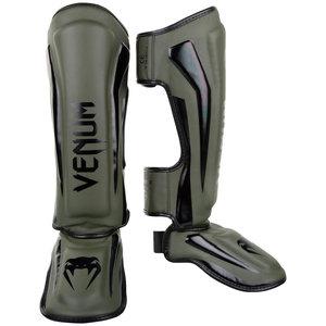 Venum Kickboks Scheenbeschermer Elite Stand Up Khaki Zwart