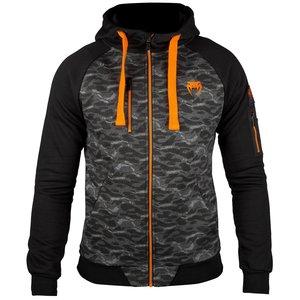 Venum Tramo 2.0 Hoody Black Orange Vechtsport Shop Nederland