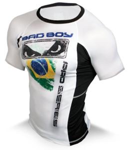 Bad Boy Brazil Rashguard Short Sleeve by Bad Boy Fightwear