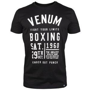 Venum KNOCK-OUT T Shirt Zwart