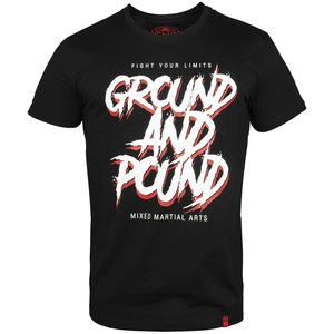 Venum GROUND AND POUND T Shirt Black