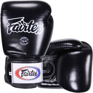 Fairtex Muay Thai Bokshandschoenen BGV1 Zwart Pro Fight Gloves