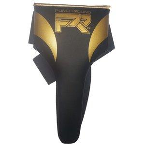 Punch Round™ Kruisbeschermer Dames Meisjes Zwart Goud