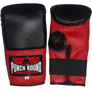 Punch Round Bokszak Training Handschoenen Bag Gloves Carbon