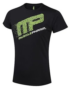 MusclePharm Rashguard S/S Pixel Zwart