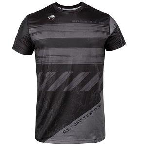 Venum AMRAP Dry-tech T-shirt Dry Tech Zwart Grijs