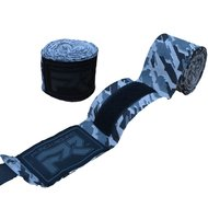 Punch Round TreX Boksbandages Camo Zwart Grijs 260 cm