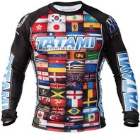 Tatami Dean Lister Flags Rash Guard by Tatami Fightwear