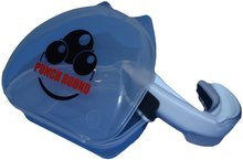 PUNCH ROUND® Ready for the Fight Mouth Guard Mond Bitje White Black