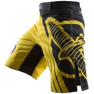 Hayabusa Chikara Recast Performance MMA Fight Shorts Yellow Black