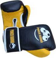 Punch Round™ ELITE PRO Bokshandschoenen Zwart Geel