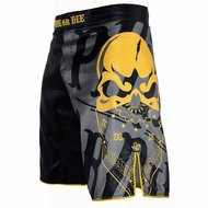 PRIDEorDIE MMA Fightshorts Reckless Black Yellow