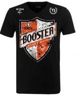 Booster Vechtsport T Shirt V Neck Shield Black Booster Pro Range