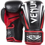 Bokshandschoenen Venum SHARP Boxing Gloves Black Nappa Leather