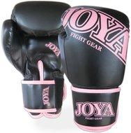Joya Top One Dames Bokshandschoenen Kick Boxing Zwart Roze