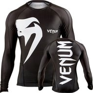 Venum Giant LS Rashguard Black by Venum MMA Fight Wear