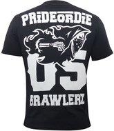 PRiDEorDiE T Shirts BRAWLERZ Vechtsport Nederland