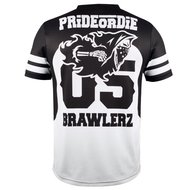 PRiDEorDiE T Shirts BRAWLERZ All Sports Dry Fit Tee