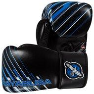 Hayabusa Ikusa Charged 12oz Kickboks Bokshandschoenen Black Blue