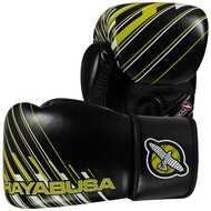 Hayabusa Ikusa Charged 14oz Kickboks Bokshandschoenen Black Yellow
