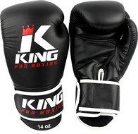 King Pro Boxing Gloves Kickboks Bokshandschoenen KPB/BG 3 Black