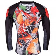 Tatami Japan Series Maple Koi Rash Guard by Tatami BJJ Fightwear