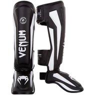 Venum Elite Stand Up Kickboks Scheenbeschermer Black White