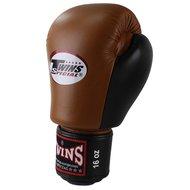 Twins BGVL 3 Kickboks Bokshandschoenen Retro Brown Black