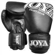 Joya Kickboks Handschoenen Black Leather Thai Boks
