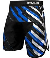 Hayabusa Metaru Charged Jiu Jitsu Fight Shorts Black Blue BJJ Kleding