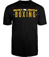 Bad Boy BOXING DISCIPLINE T Shirt Zwart Boks Kleding