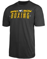 Bad Boy BOXING DISCIPLINE T Shirt Antraciet Boks Kleding