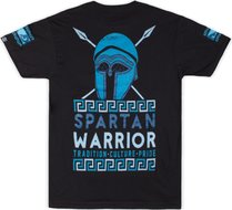 Bad Boy Spartan Warrior T Shirt Zwart Vechtsport Kleding