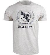 Hayabusa GLORY Kickboxing T Shirt Grijs Kickboks Kleding