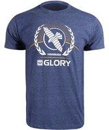 Hayabusa GLORY Kickboxing T Shirt Blauw Kickboks Kleding