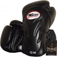 Twins Bokshandschoenen BGVL 6 Black Deluxe Sparring Gloves