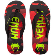 Venum Atmo Sandals Flip Flop Slippers Camo Rood
