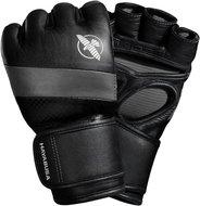 Hayabusa MMA Handschoenen T3 4OZ MMA Gloves Zwart Grijs